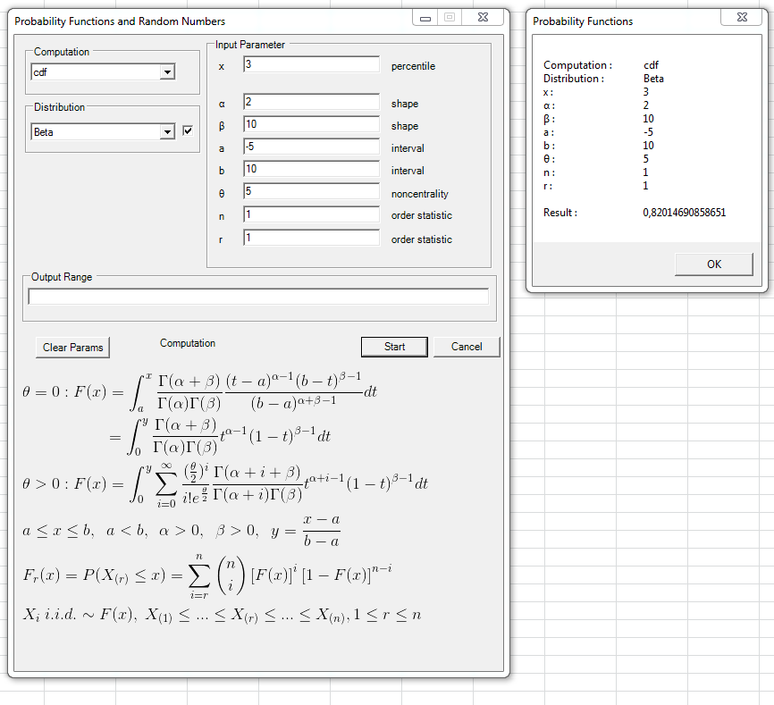 Probability Distributions Statistical Tools For Excel. Input Range Of Values From Worksheet And Output Results To. Worksheet. Negative Binomial Distribution Worksheet At Mspartners.co