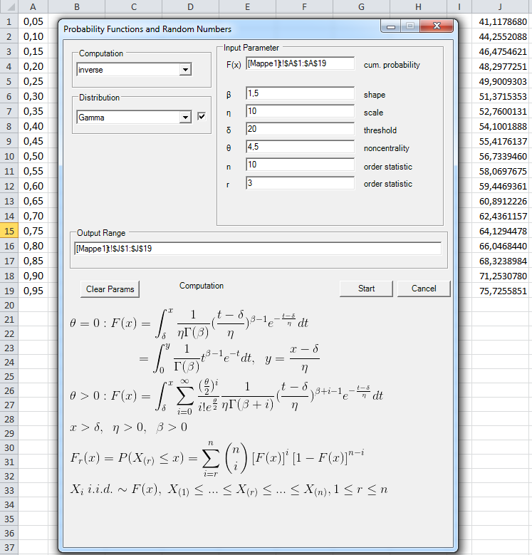 Probability Distributions Statistical Tools For Excel. Input Range Of Values From Worksheet And Output Results To. Worksheet. Negative Binomial Distribution Worksheet At Clickcart.co